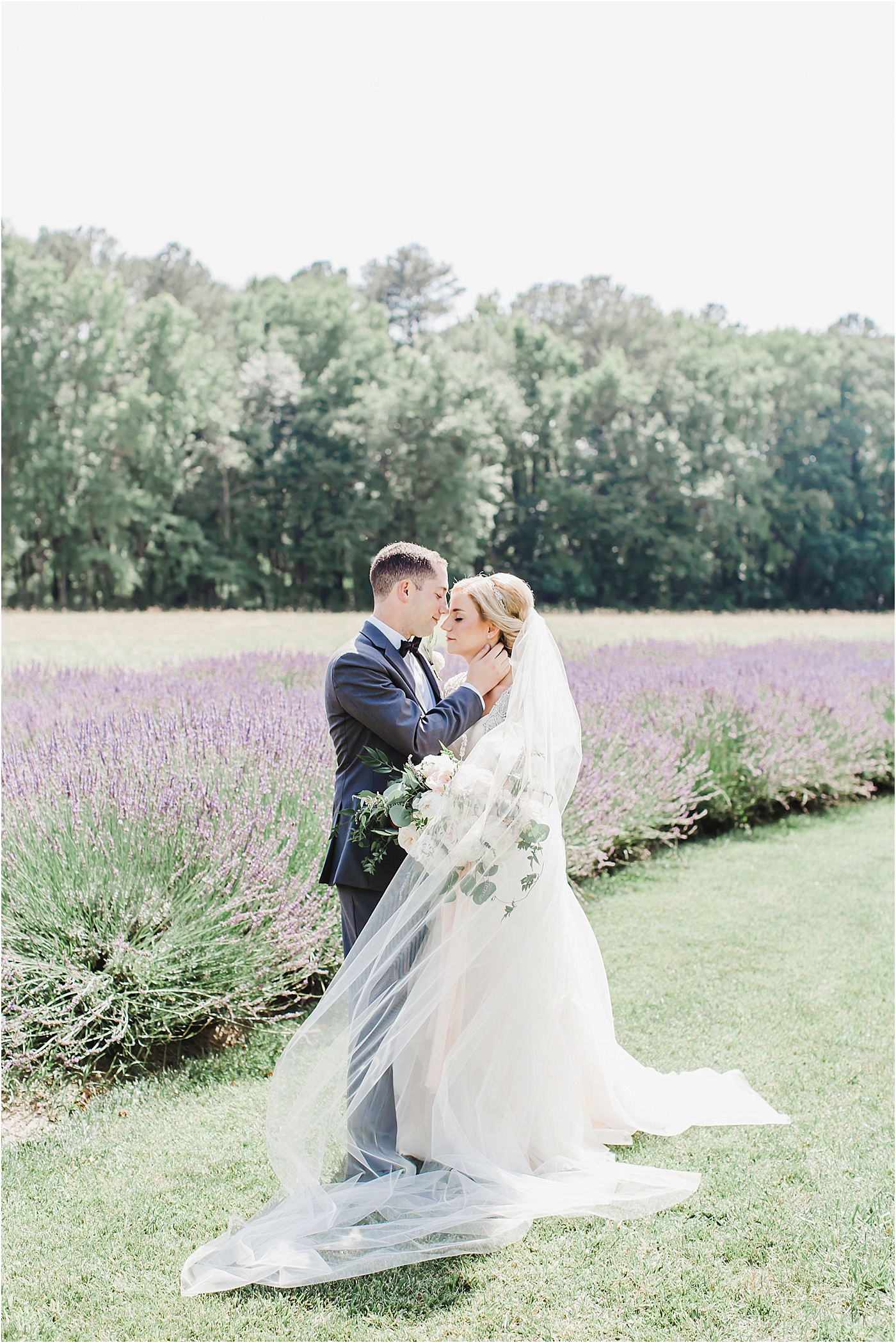 Lavender Inspired Eastern Shore of Maryland Wedding