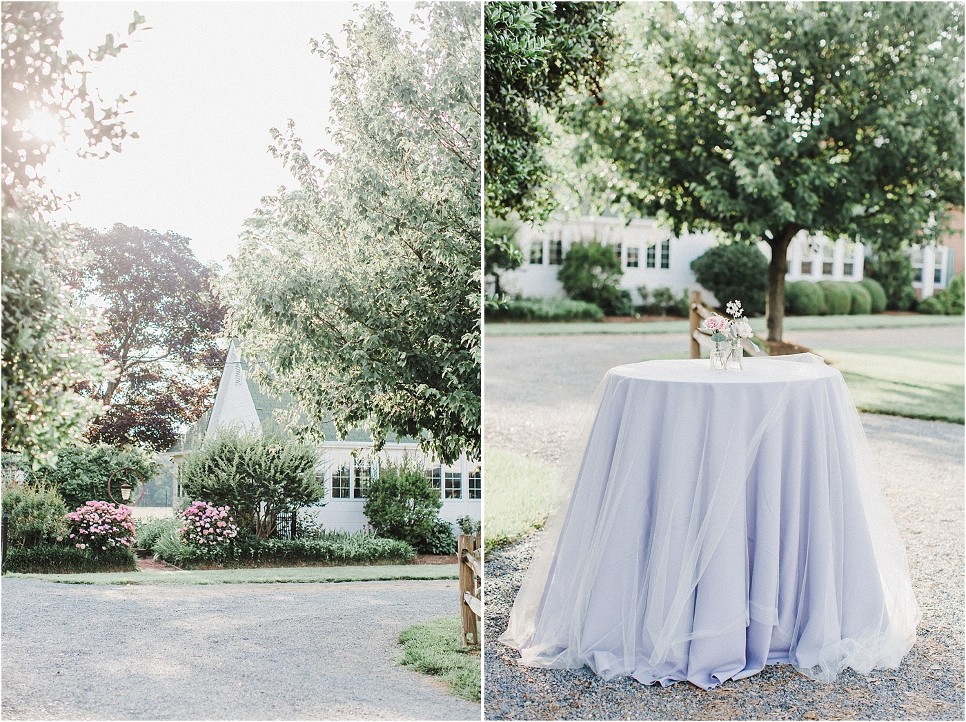 Lavender Inspired Garden Wedding at Inn at Huntingfield Creek Maryland
