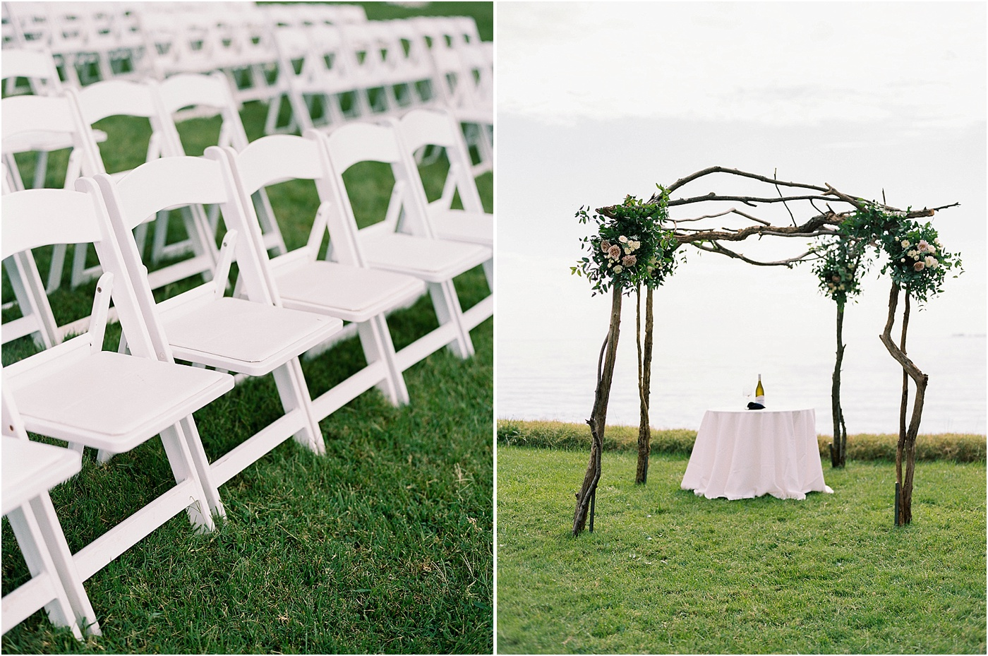 rustic greenery wedding