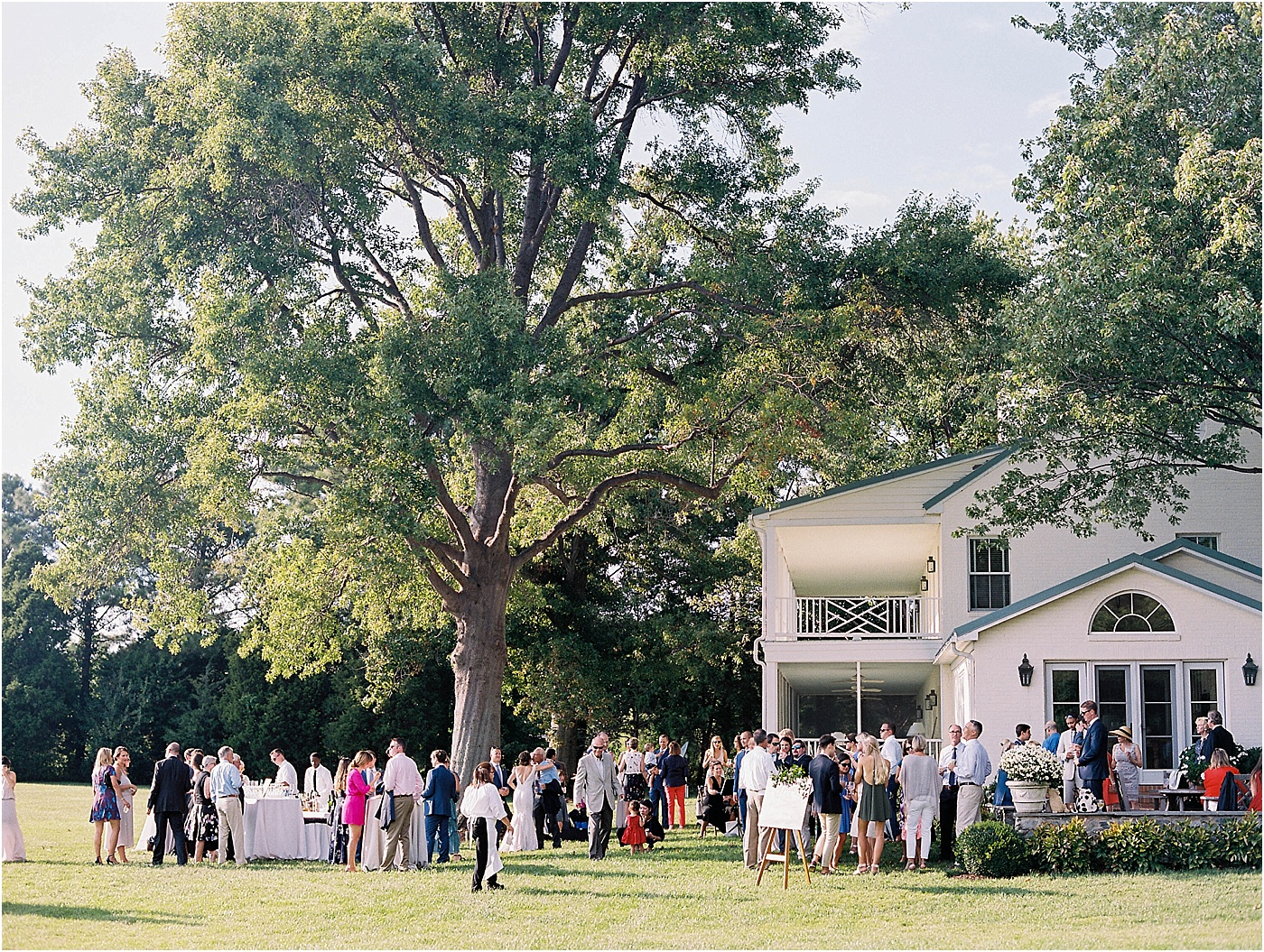 private home eastern shore md wedding