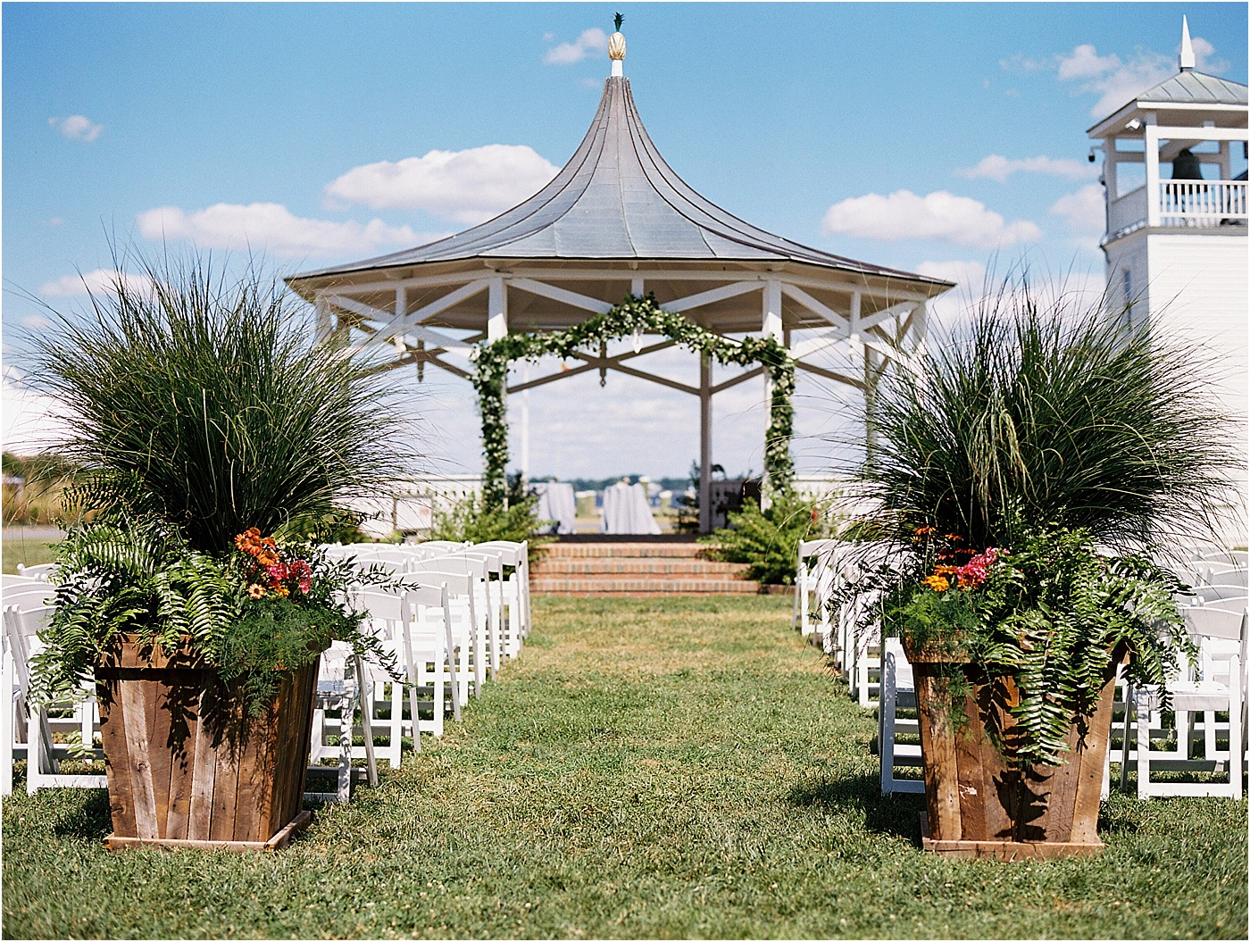 eastern shore summer wedding