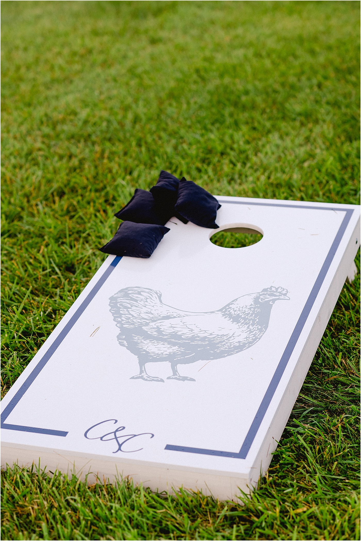 corn hole wedding games custom